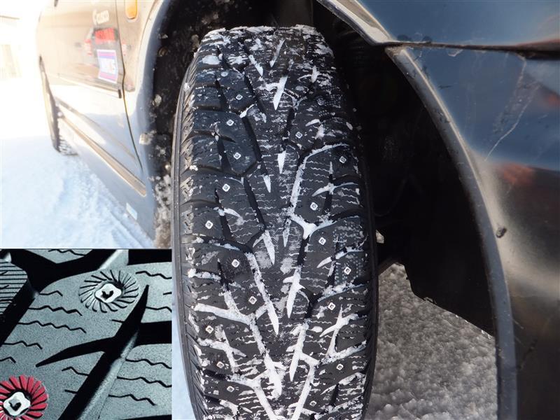 YOKOHAMA iceGUARD iG55 195/65R15 95T XL スタッドタイヤ
