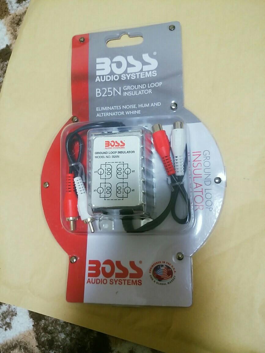 BOSS Audio Systems RCAノイズフィルター アイソレータ B25N