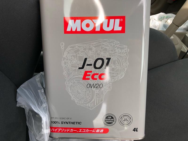 MOTUL J-01 Eco 0W-20