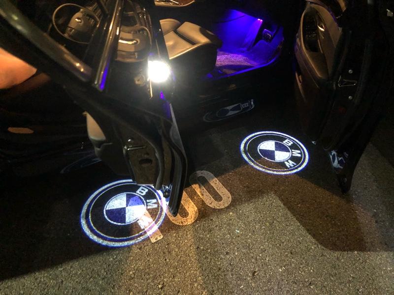 HANAMARU AUTO PARTS BMWエンブレムロゴ カーテシランプ