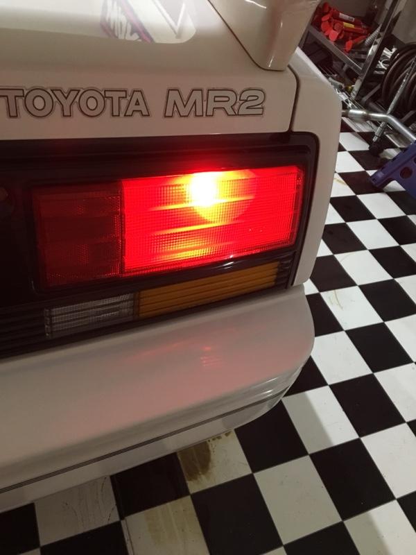 CREE S25ダブル(BAY15D) 9w ブレーキ球 LED 無極性 レッド 赤