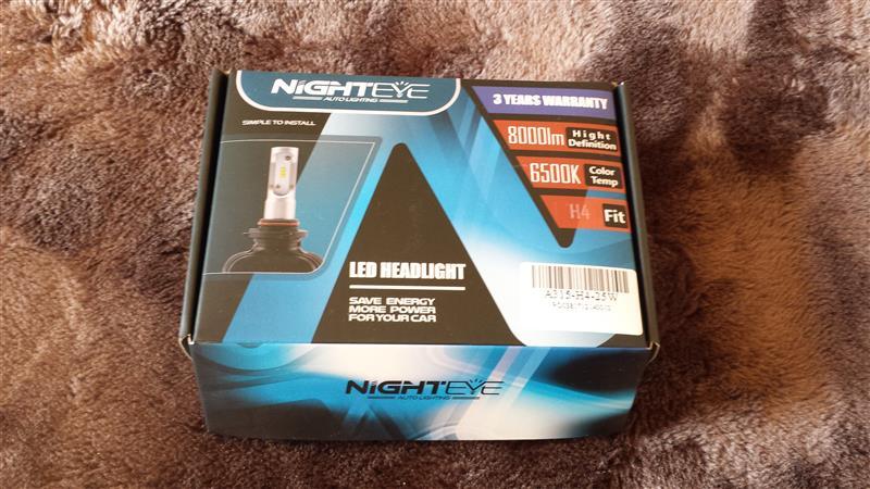 NIGHTEYE正規品 H4LEDヘッドライト