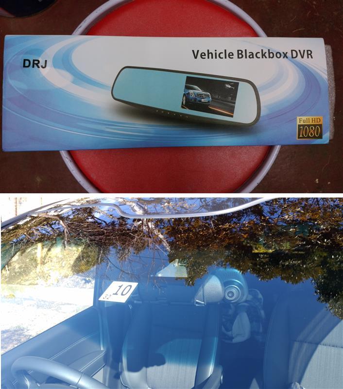 W-CLASS ミラー型ドライブレコーダー ドラレコ 車載 カメラ 4.3インチ 常時録画 広角120度 Gセンサー