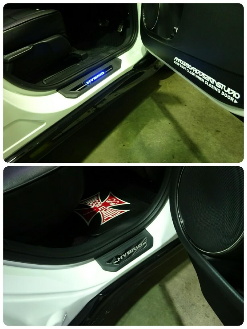 Modulo / Honda Access サイドステップガーニッシュ