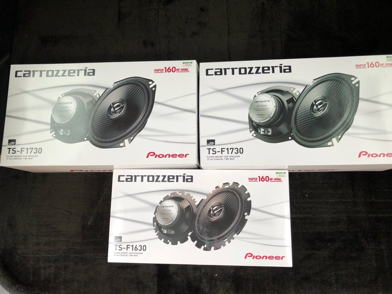 PIONEER / carrozzeria TS-F1730