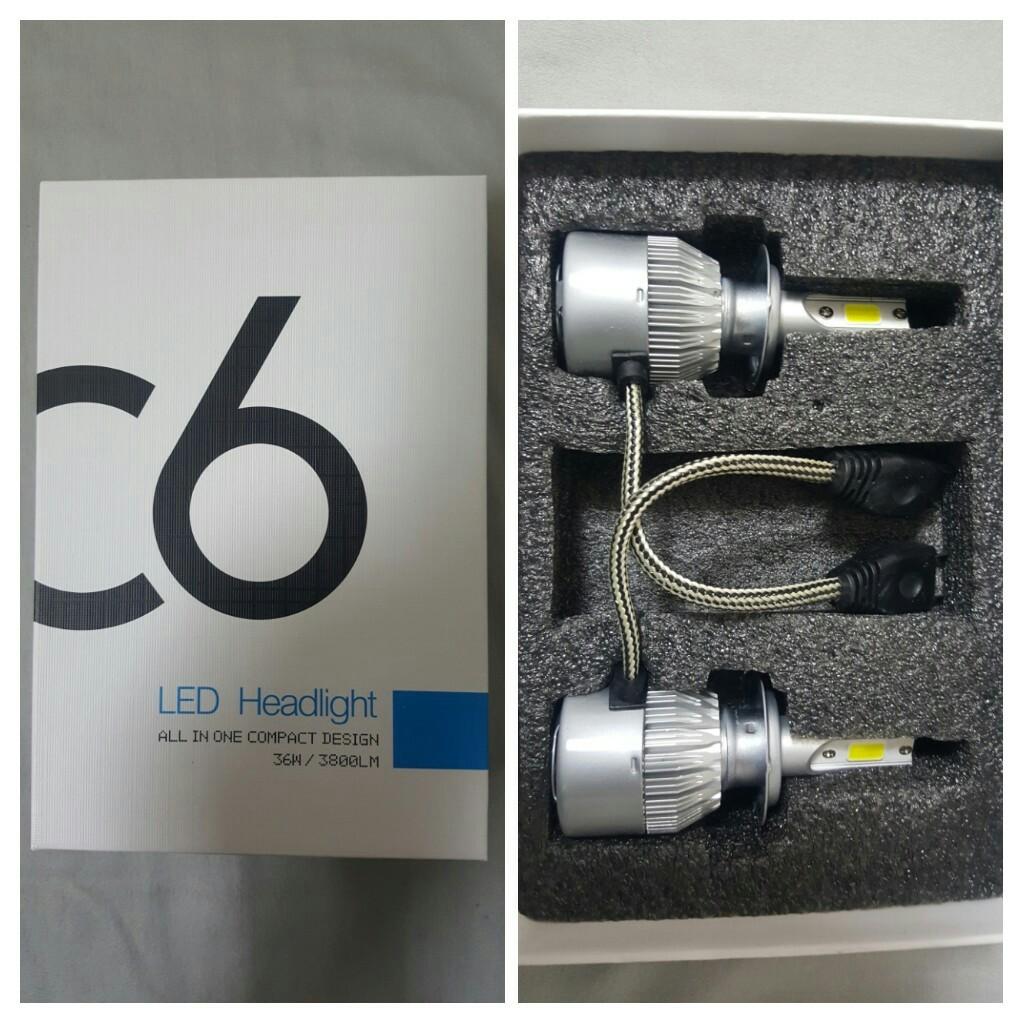 VKOSHA ヘッドライト H7 LEDバルブ