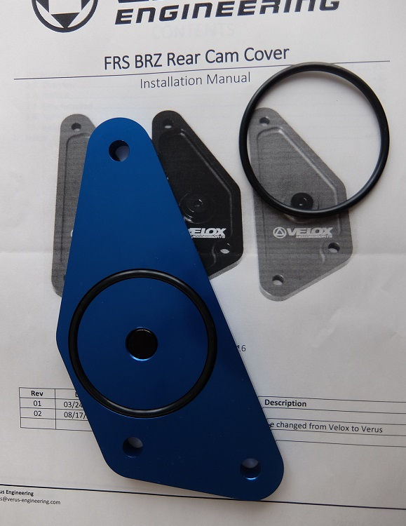verus engineering frs brz rear cam cover