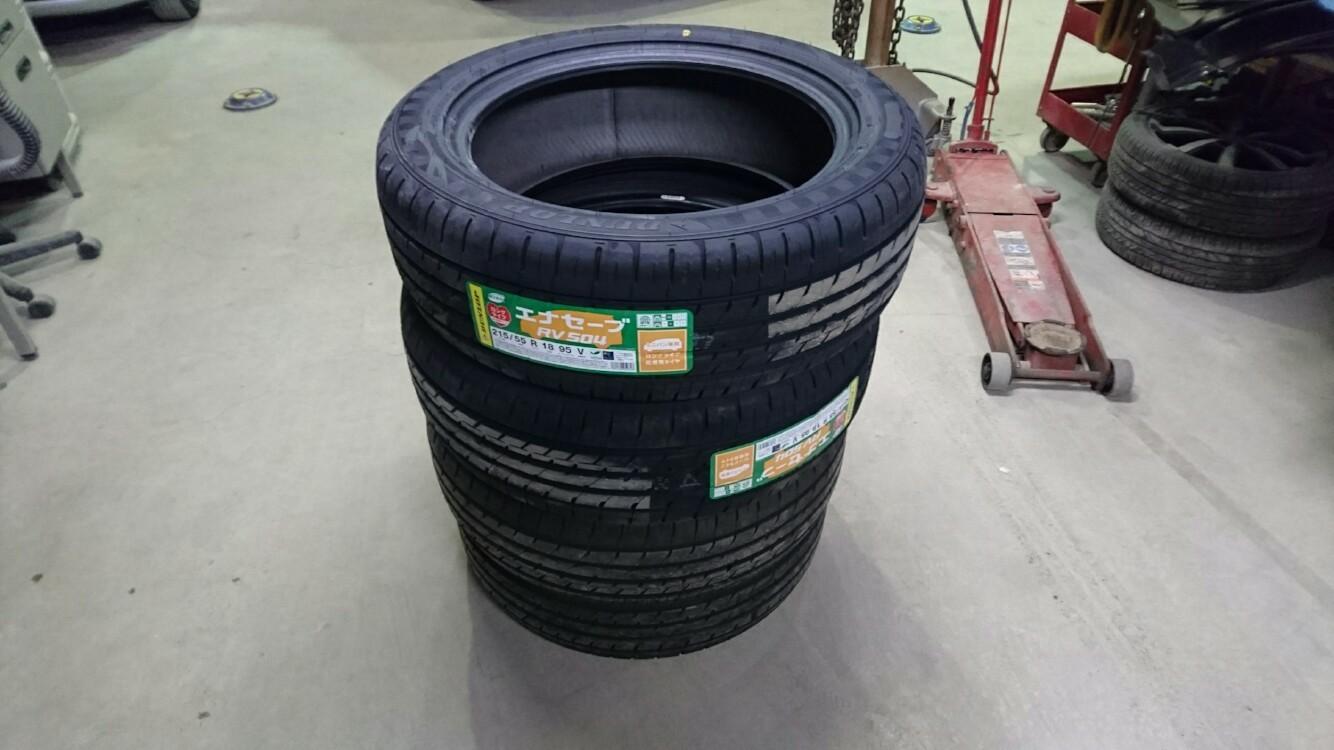 DUNLOP ENASAVE RV504 215/55R18