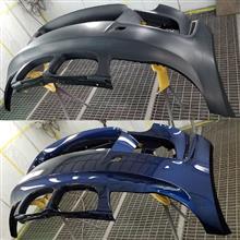 1シリーズ クーペGOOD GO 1M Design Front Bumperの単体画像