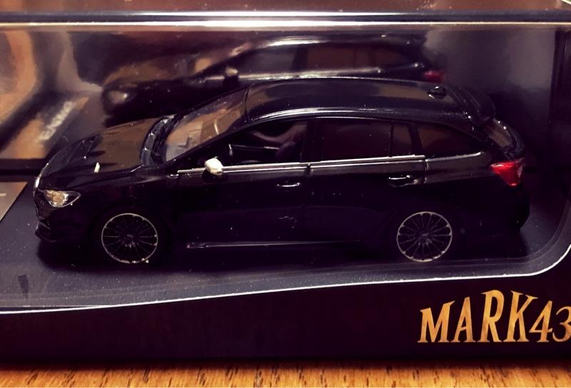 MARK43 1/43 スバル レヴォーグ 2.0STI スポーツ アイサイト クリスタルブラックシリカ