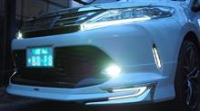 ハリアートヨタモデリスタ / MODELLISTA フロントスポイラーVer.1(LED付き)の全体画像