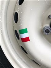フィアット500 C (カブリオレ)フィアット純正 鉄チンホイール用シールの単体画像