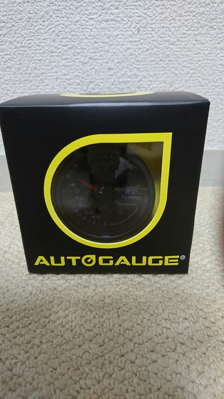 AutoGauge ブースト計 60φ