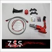 Z.S.S. Racing Div ツインキャリパーキット&油圧サイドブレーキ