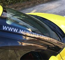MONSTER SPORT / TAJIMA MOTOR CORPORATION MSドットコム ステッカー