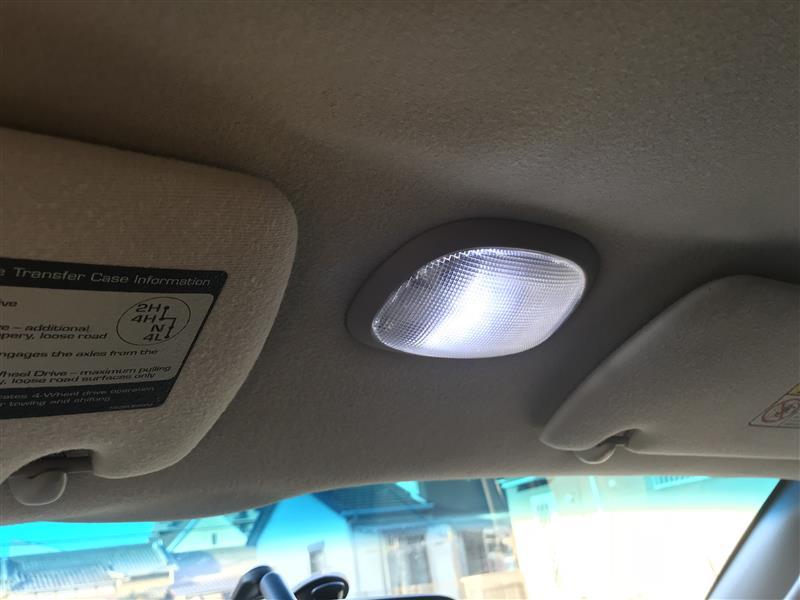 メーカー不明 LEDルームランプ