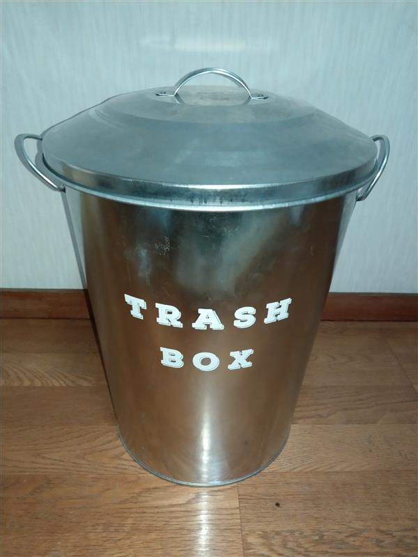 CAINZ HOME ブリキ製 TRASH BOX