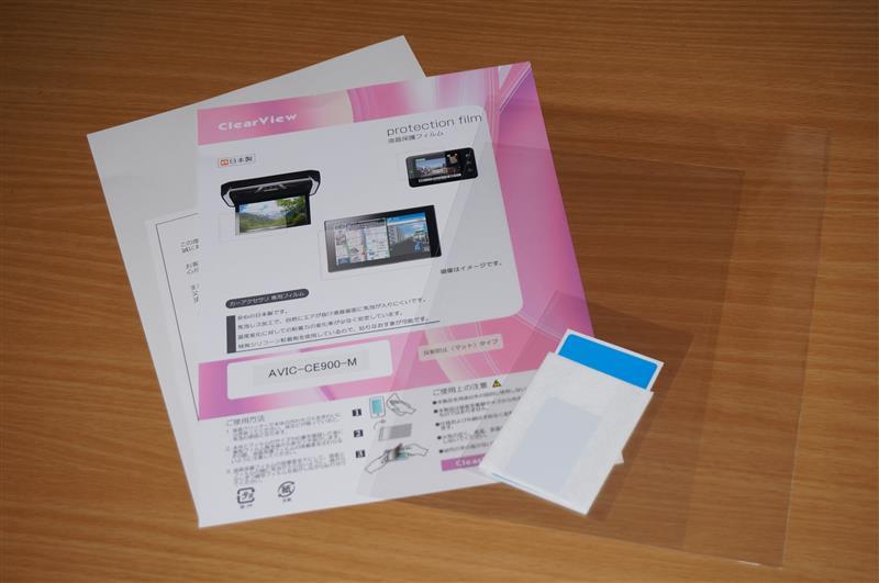 ClearView 液晶保護フィルム 反射防止(マット)タイプ サイバーナビ AVIC-CE900-M