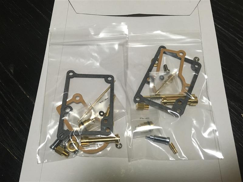 K&Fキャブレター RZ250R用純正キャブリペアセット