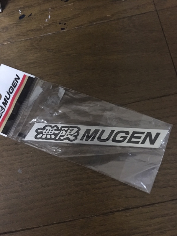 MUGEN / 無限 MUGEN METAL EMBLEM