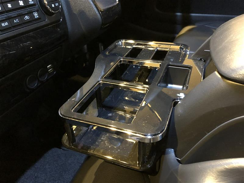 CAR MATE / カーメイト ドリンクテーブル ハイエース用 ブラック / NZ516