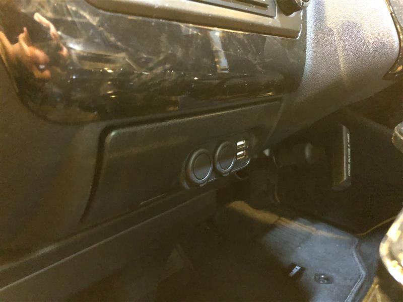 CAR MATE / カーメイト 増設電源ユニット ハイエースH200系用 ブラック / NZ545
