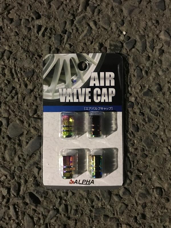 ALPHA AIR VALVE CAP(ネオクローム)