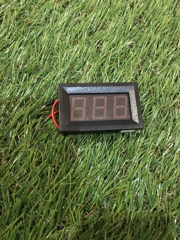 多分自作 メルカリで売ってる電圧計