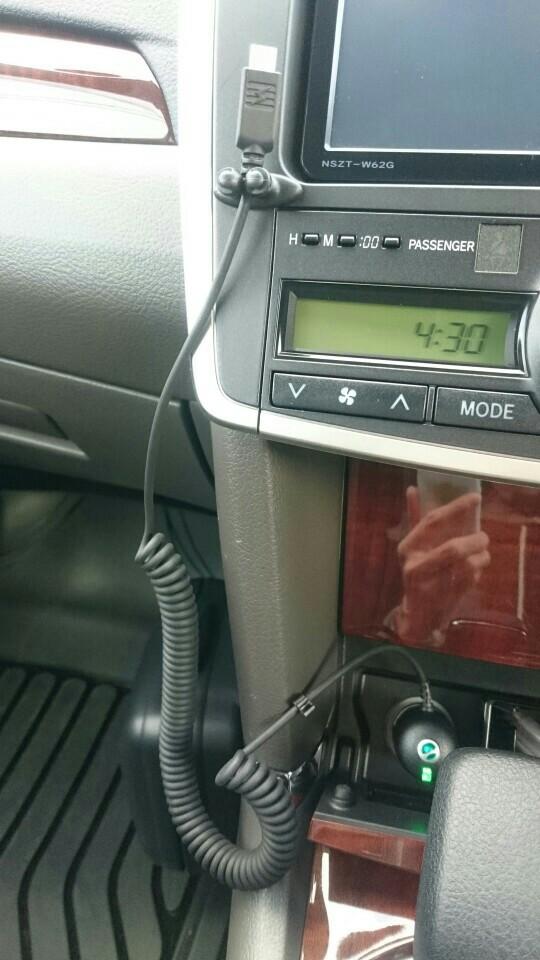 SONY ソニーエリクソン Micro USB カーチャージャ AN300