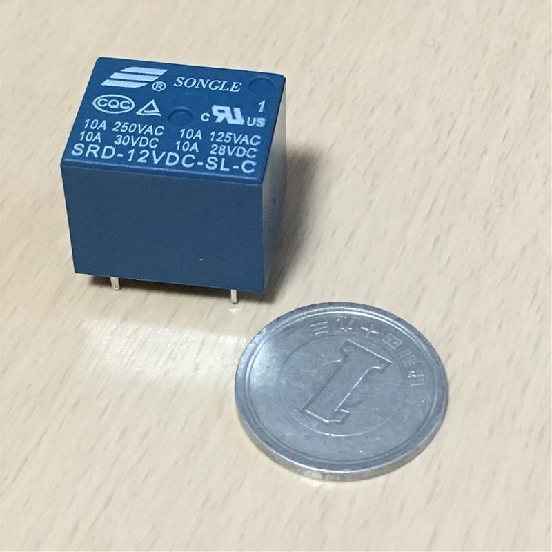 unknown 小型5極リレー(C接点)