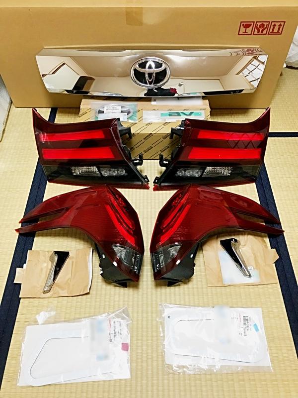 トヨタ(純正) アルファード用テールランプ