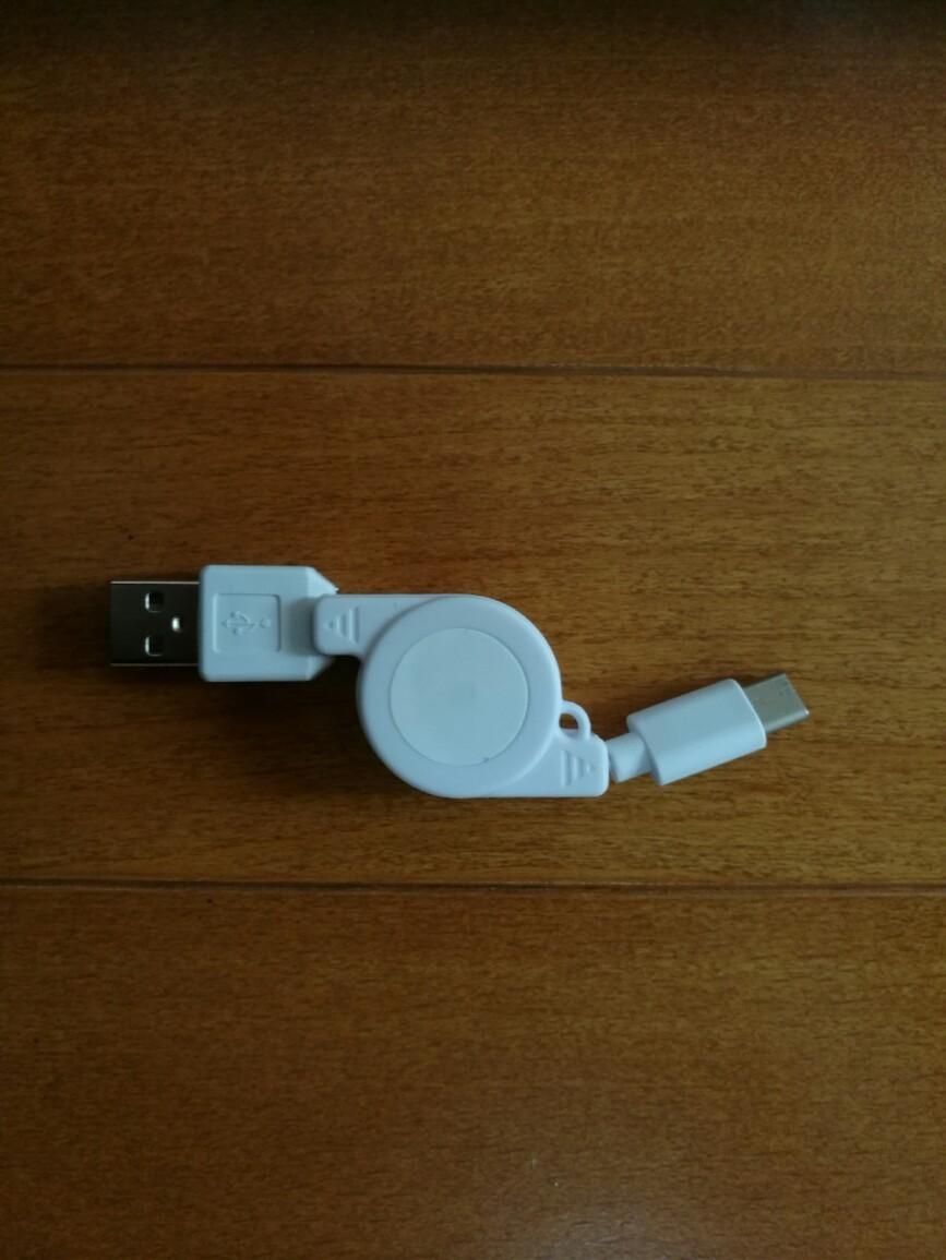 WEUTOP TYPE-C巻取り式充電ケーブル