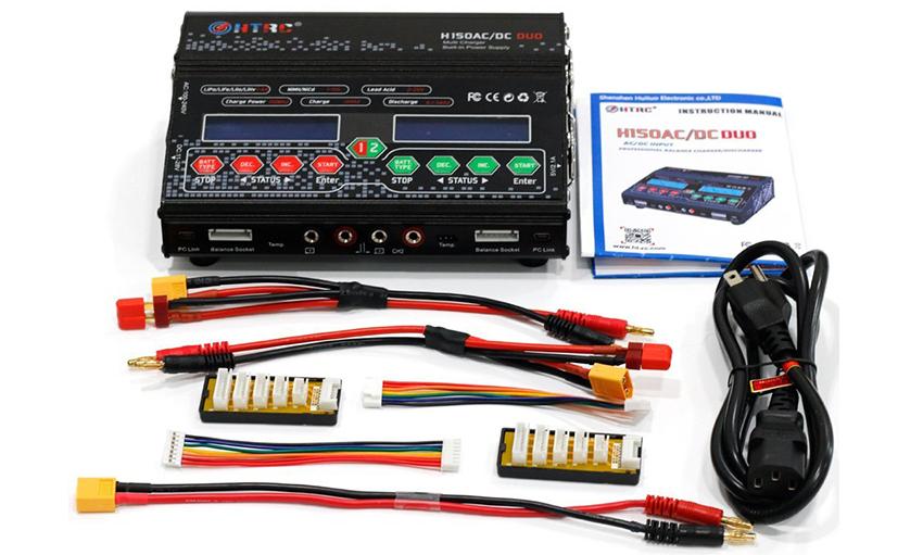 HTRC H150AC/DC DUO バッテリーチャージャ-