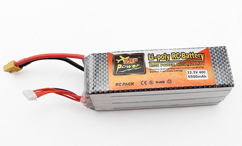 Li-Poly RC バッテリー 5500mAh 22.4V 40C