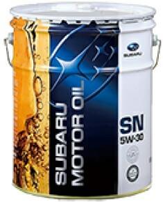 スバル(純正) SUBARU MOTOR OIL SN 5W-30