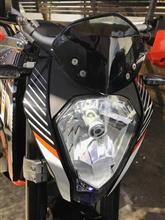 250DUKESafego LED Headlight の単体画像