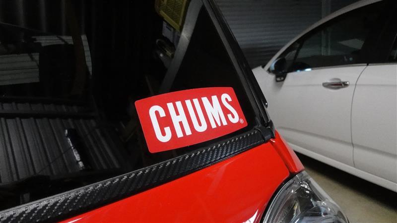 CHUMS CHUMS ステッカー