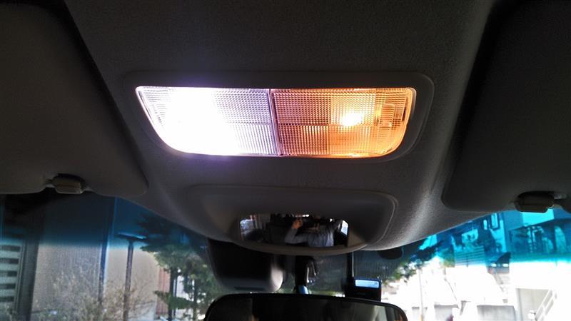 CAROZEオリジナル LEDルームランプ
