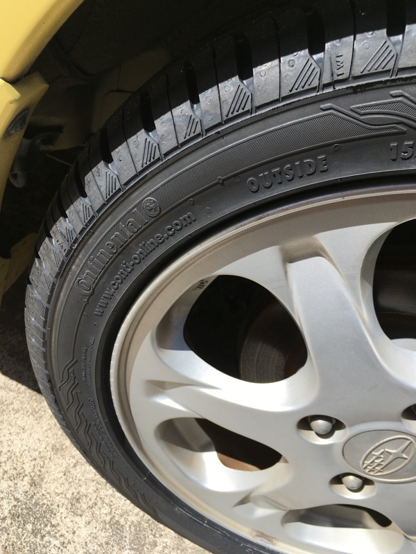 Continental ContiEcoContact 3 155/60R15