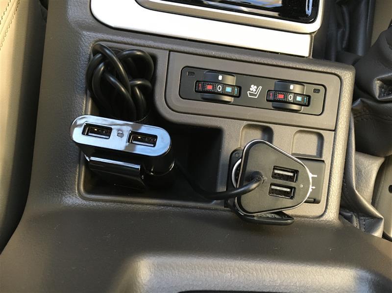 メーカー・ブランド不明 シガーソケット USB 4ポート