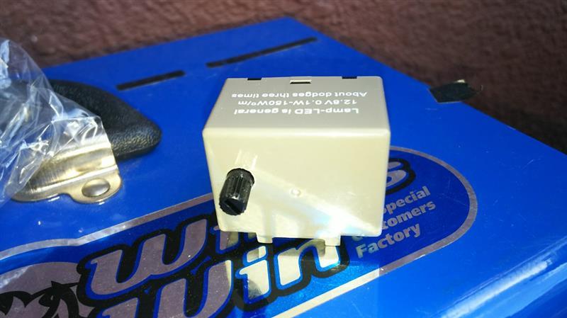 不明 ハイフラ防止対策用8ピンウインカーリレー L700S ミラ ジーノ 車検対応品 ダイハツ 8PIN LEDウィンカー 点滅間隔調整可能