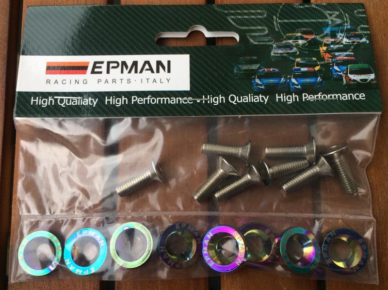EPMAN M6皿ビス用カラー  ネオクローム