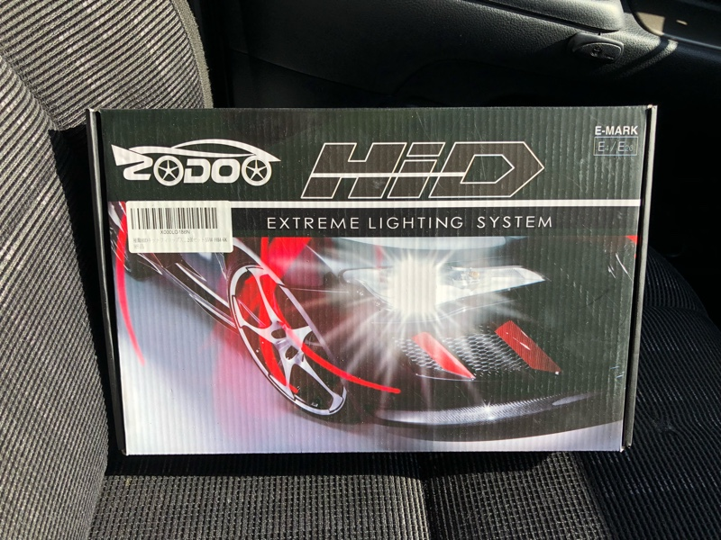 zodoo lighting 極薄HIDキット 55w HB4 6000k