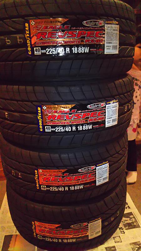 GOODYEAR EAGLE EAGLE REVSPEC RS-02 225/40R18