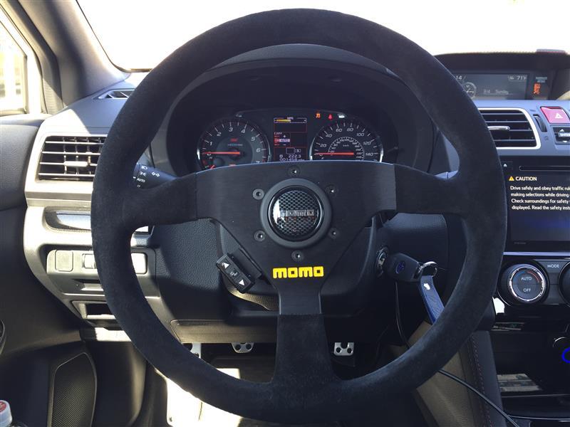 momo MOD.78 ブラックスエード (330mm)