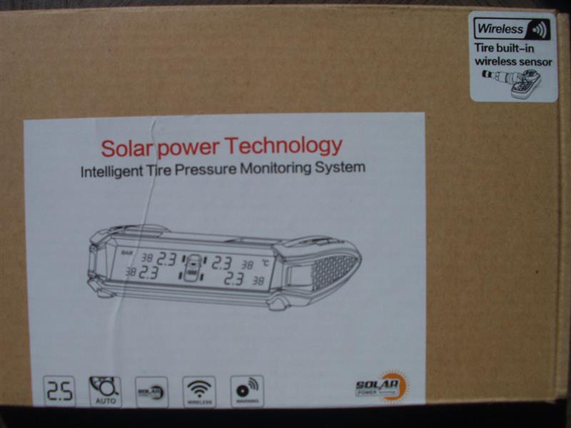 boliguous Solar power Technology Intelligent Tire Pressure Monitoring System