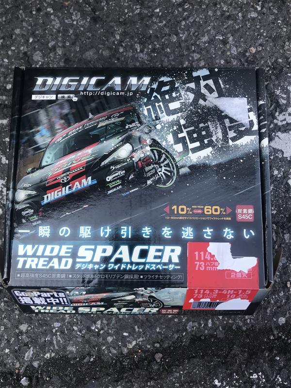 K'spec DIGCAM DIGICAM ワイドトレッドスペーサー 10mm
