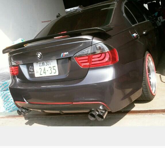 フォード(純正)GT 3Dリアウィング マッドブラック