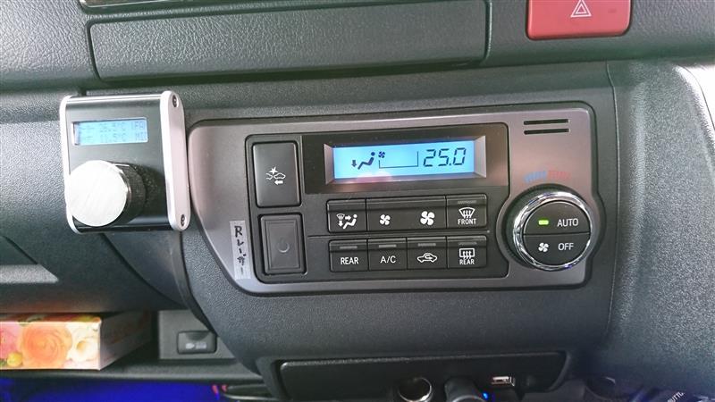 GALAX ハイエース 200系 4型 標準ボディ ギャラクス インジケーターLEDカラーチェンジシステム ブルー
