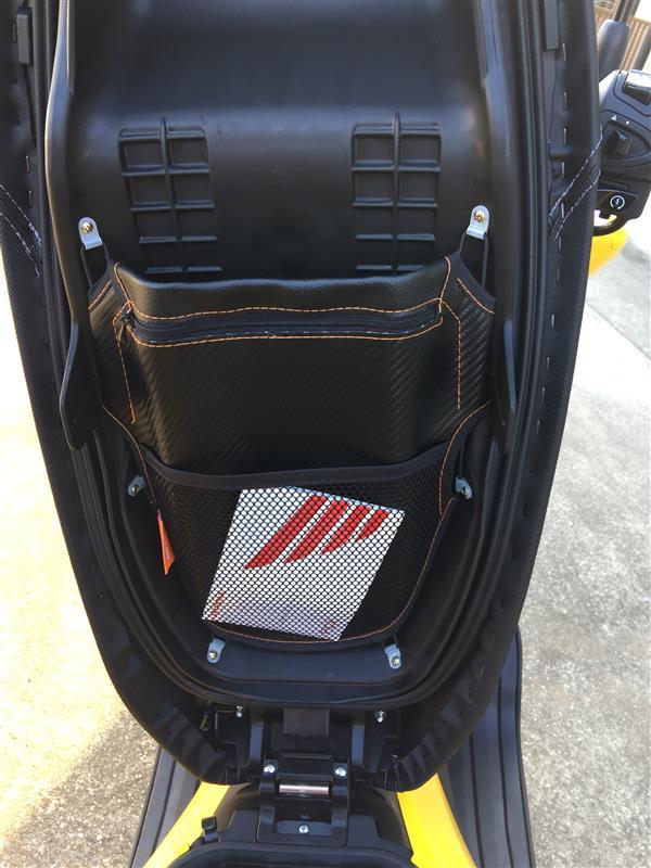 DAYTONA(バイク) メットインポケット カーボン調 M